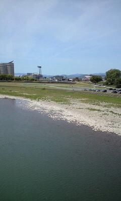 長良橋周辺